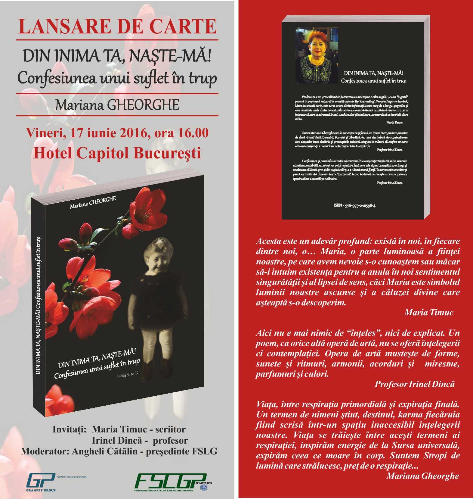 www.fsat.ro - flyer lansare carte