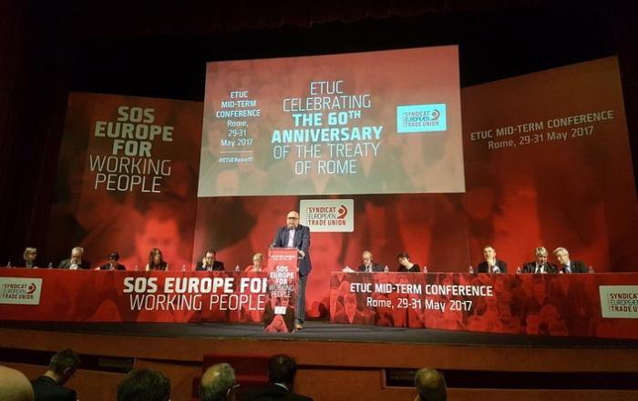 Conferinta CES Roma - mai 2017 a